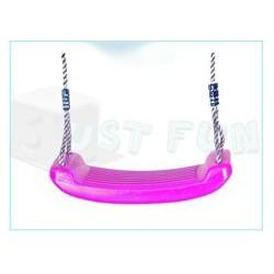 Plastová houpačka Swing Seat, růžová