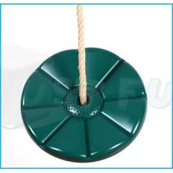 Houpací disk Kvítek, zelený