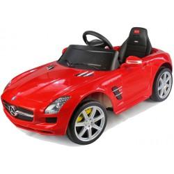 Dětské elektroauto Mercedes-Benz AMG SLS na DO, 6V, červené