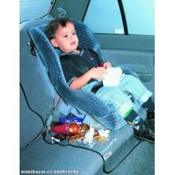 Průhledný potah na zadní sedadlo