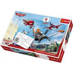 Planes puzzle Maxi 30, 60x40 cm