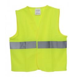 Dětská bezpečnostní vesta malá žlutá