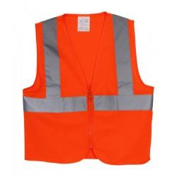 Dětská bezpečnostní vesta střední oranžová