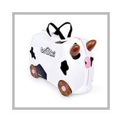 TRUNKI Kravička FRIEDA, kufr na hračky / odrážedlo