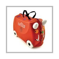 TRUNKI GRUFFALO, kufr na hračky / odrážedlo