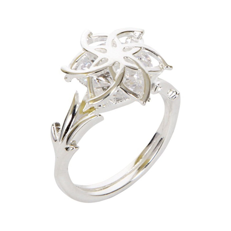 NENYA stříbrný prsten se zirkonem - aaaHračky.cz 0d2a2685872
