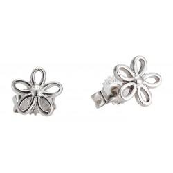 Stříbrný náhrdelník + stříbrné náušnice pro nejmenší, motiv Vážka