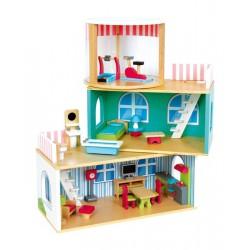 VARIABLE Domeček pro panenky včetně nábytku