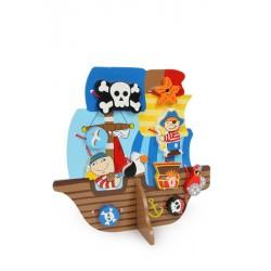 Provlékací hra Pirátská loď