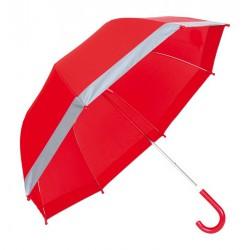 Deštník s reflexními pruhy