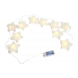 LED světelná girlanda Hvězdy