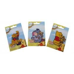 Nažehlovací obrázky Medvídek Pú, 3 ks v balení