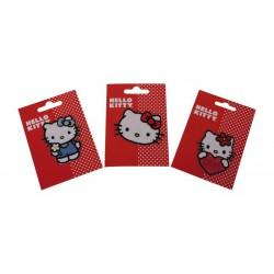 Nažehlovací obrázky Hello Kitty, 3 ks v balení