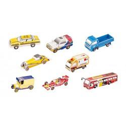 3D Série aut, 8 ks v balení