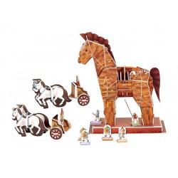 3D Trojský kůň