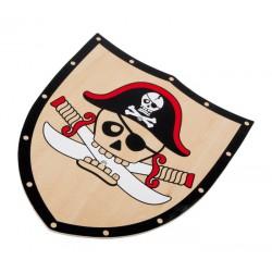 Pirátský štít a meč Barbarosa