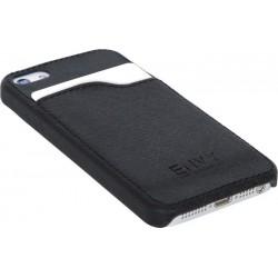 Pouzdro na IPhone 5, kryt z umělé kůže, černý