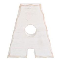 Dřevěné písmeno 15 cm, 1 ks