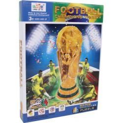 Puzzle Skládačka 3D Fotbalový pohár 37 cm