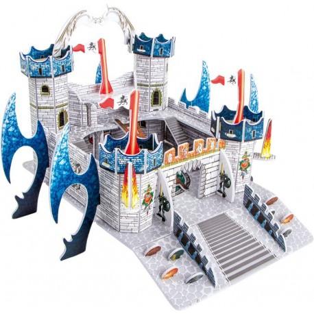 Puzzle Skládačka 3D Dračí hrad