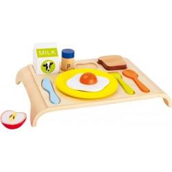 Dřevěné potraviny - Snídaňový tác dřevěný