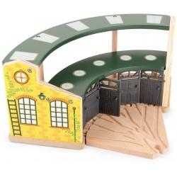 Depo pro lokomotivy Round House Nostalgic