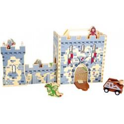 Rozkládací Rytířský hrad v kufru