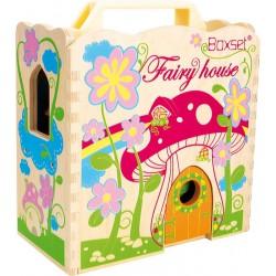 Rozkládací Fairy house Vílí dům v kufru