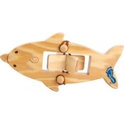 Natahovací loď Delfín 16 cm