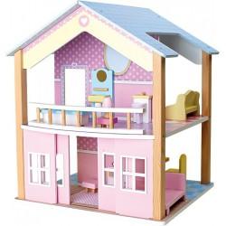 Domeček pro panenky Modrá střecha