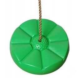 Houpací disk Kvítek, světle zelený