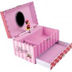 Šperkovnice Hrací skříňka Minnie Mouse