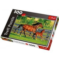 Trefl Puzzle Koně, 500 dílků