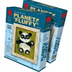 Vlněný obraz Panda