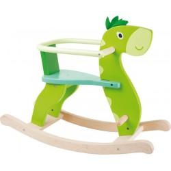 Dřevěný houpací dinosaurus