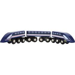 Vláčkodráha - vysokorychlostní vlak Modrý blesk