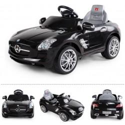 Dětské elektroauto Mercedes-Benz AMG SLS na DO, 6V, černé