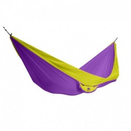 Houpací síť KING CAMP Parachute purpurovo-žlutá