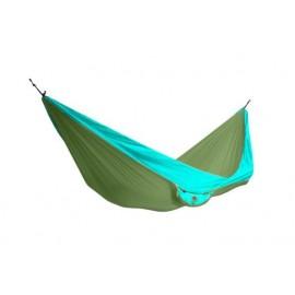 Houpací síť KING CAMP Parachute zeleno-modrá