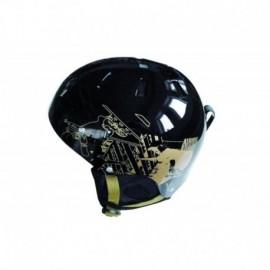 Lyžařská přilba SPARTAN Snow helm S - černá
