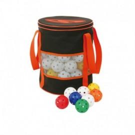 Florbalový set míčků SPARTAN - 80ks