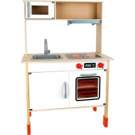 Dětská dřevěná elektronická kuchyňka Modern
