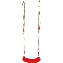 Plastová houpačka sedátko Swing Seat, červená