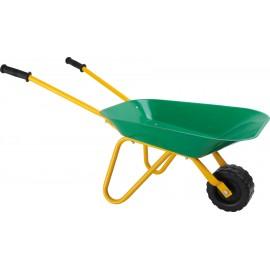 Dětské zahradní kolečko, zeleno-žluté