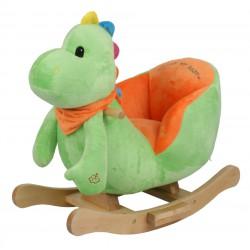 ROCK ME BABY - houpací dinosaurus DINO se zvuky