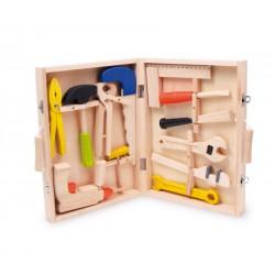 Dřevěný box na nářadí Lino