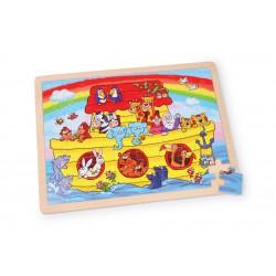 Dřevěné puzzle - Noemova archa