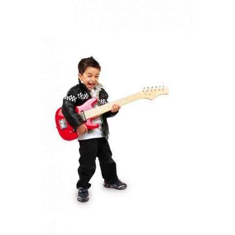 detska-elektricka-kytara-cervena