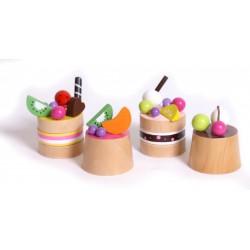 drevene-potraviny-ovocne-dortiky-4ks