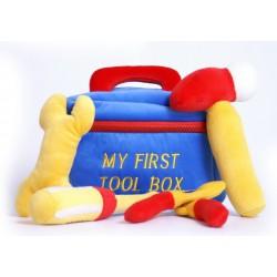 Plyšová hračka Kufřík s nářadím